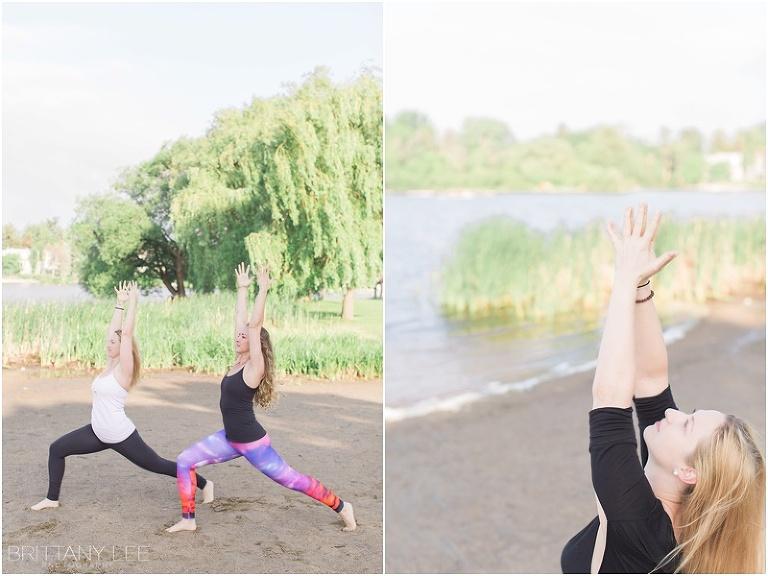 Ottawa Yoga Instructor - Beach Photo Shoot