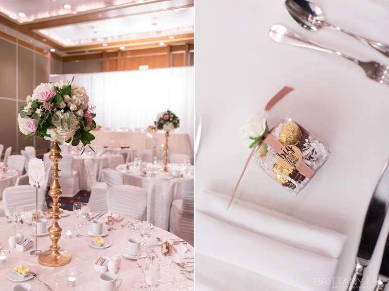 Blush And White Brookstreet Wedding Catherine Terry Brittany Lee Photography