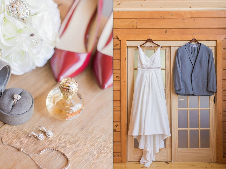 Intimate Le Nordik Spa wedding by Brittany Lee Photography