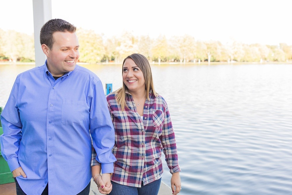 Dows Lake Ottawa Fall Engagement Brittany Lee Photography