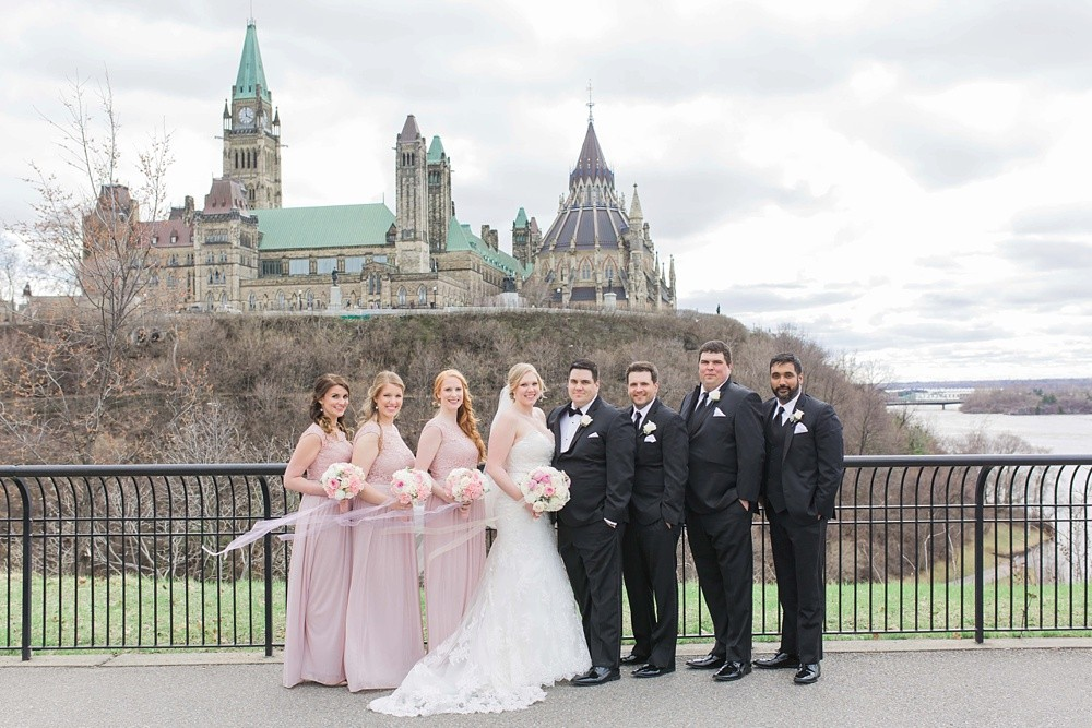 Downtown Ottawa Westin Spring Wedding Brittany Lee Photography
