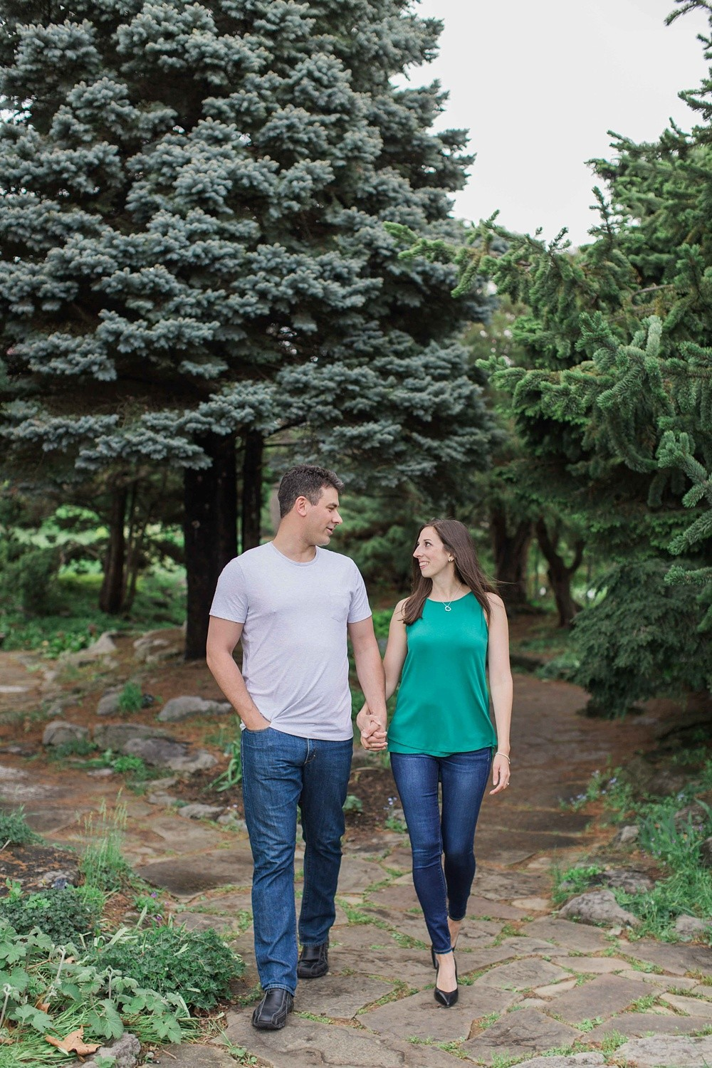 Ottawa Ornamental Gardens Engagement Photos Brittany Lee Photo