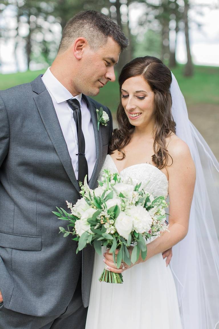 Britannia Yacht Club Wedding in Ottawa - First Look Photos at Andrew Hayden Park