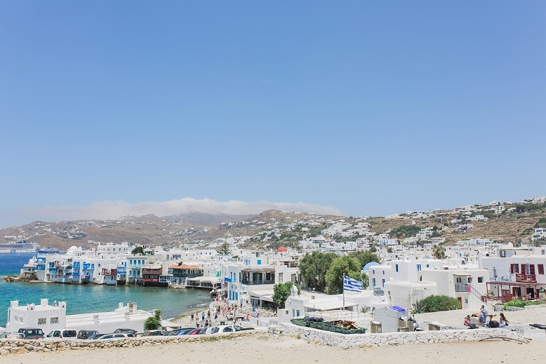Travel tips and ideas for four day vacation in Mykonos Greece