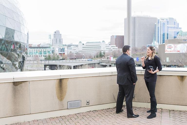 behind the scenes 2017 Ottawa wedding photographer