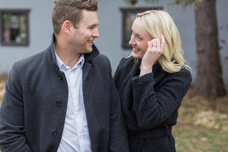 un and Casual Westboro Ottawa Engagement Photos