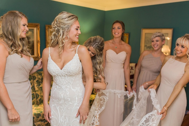 Merrcikville Summer wedding at the Baldachin Inn