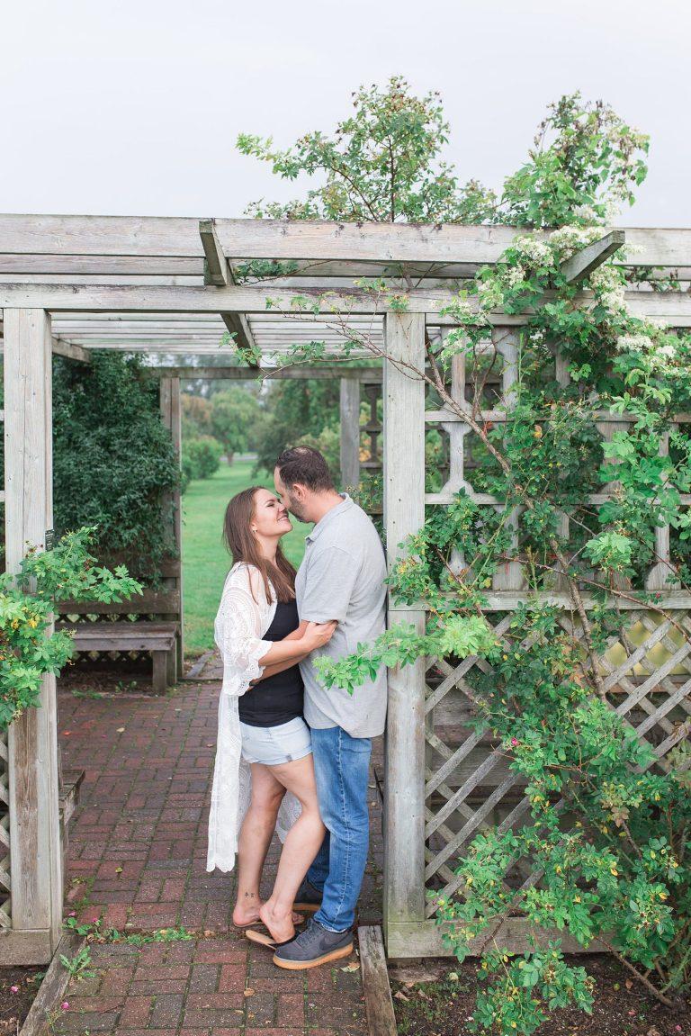 Summer Arboretum Ottawa engagement photo session
