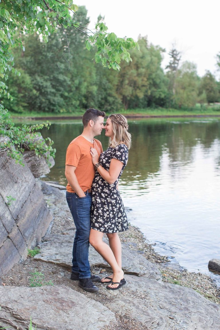 Pinheys Point Engagement session photos in ottawa