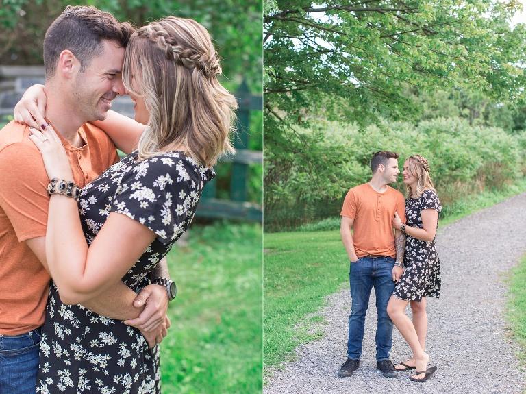 Pinheys Point Engagement session photos in ottawa